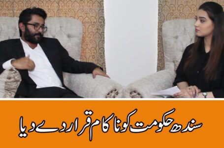 CoronaVirus Outbreak: Sindh Government failed to provide relief says Barrister Arsalan Banbhan