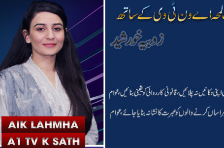 Special Program Of Harassment I AIK LAMHA A1TV KY SATH WITH ZOBIA KHURSHID